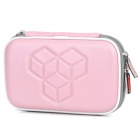 Protective Artificial Leather Bag for Nintendo 3DS - Pink