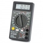 "DT-830D 2 ""LCD Digital Multimeter - Schwarz (1 x 9V/6F22)"