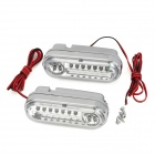 0.63W 21-LED White Light Car Light Daytime Running (12V / 2PCS)