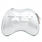 Airfoam Protective Fabric Carrying Pouch for Xbox 360 Wireless Controller - Silver