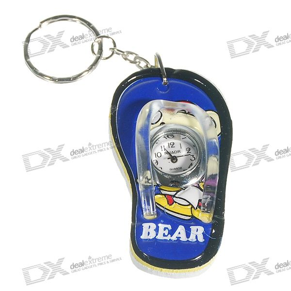 Mini Slipper Keychain Clock (Color Assorted) Cary For sale ad