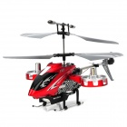 F103 B Updated Version Rechargeable IR Controlled 4-CH ABS + Alloy R/C Helicopter - Red