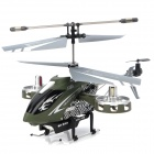 F103 4-CH IR Infrared R/C Helicopter - Army Green