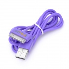 IMOS USB Sync Data / Charging Cable for iPhone 3G / 3GS / 4 / 4S / iPad / iPod - Purple