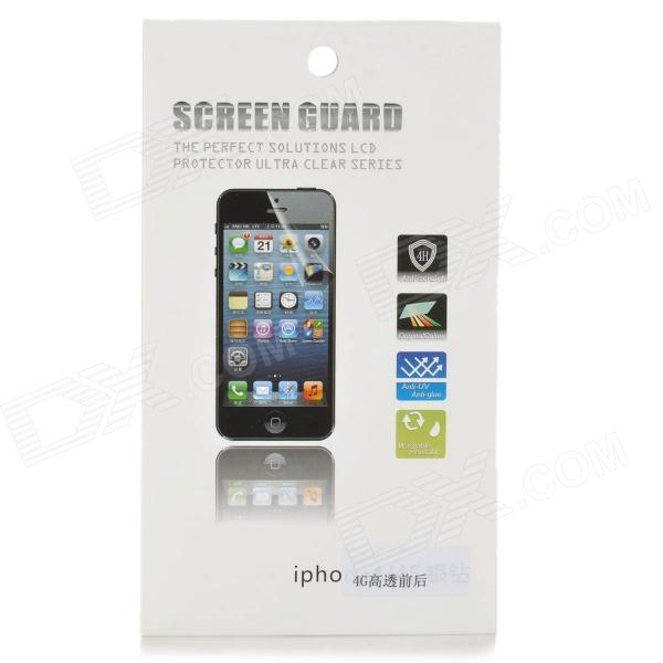 Protective Clear Front + Back Screen Protector Guard Film Set for Iphone 4 / Iphone 4S стоимость