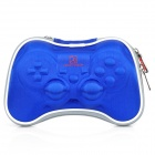 Airfoam Protective Fabric Carrying Pouch for PS3 / PlayStation 3 Wireless Controller - Blue