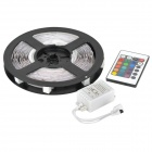 RGB Multicolored 5-Meter 150-LED 30W Light Strip with Remote Controller (DC 12V)