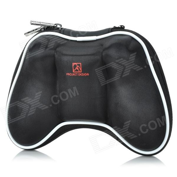 Airfoam Protective Fabric Carrying Pouch for Xbox 360 Wireless Controller - Black