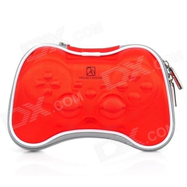 Airfoam Protective Fabric Carrying Pouch for PS3 / PlayStation 3 Wireless Controller - Red disassembling 3 0 philips screwdriver for wireless ps3 controller translucent red silver
