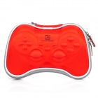Airfoam Protective Fabric Carrying Pouch for PS3 / PlayStation 3 Wireless Controller - Red