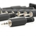 DIY 2.5mm Male Jack Plug Connector for Stereo Audio Cable (20 PCS)