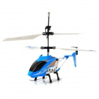 3,5-CH IR Infrarot R / C Voice Control Helicopter w / Gyro - Blue