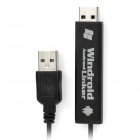 USB PC to Tablet Data Copy Connection Cable - Black (126cm)
