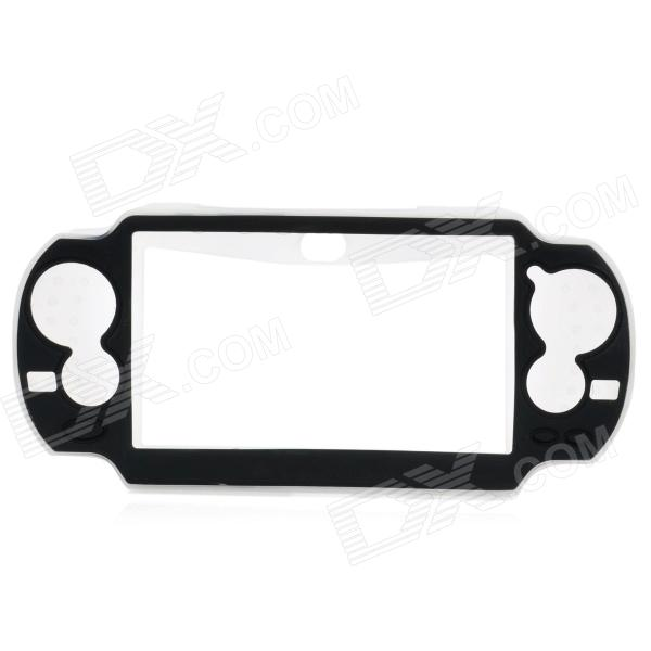 Protective Plastic Case for PS Vita / PlayStation Vita - Black + White