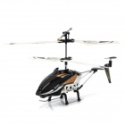 6875 Rechargeable IR Controlled 3.5-CH Voice Plastic + Alloy R/C Helicopter - Black