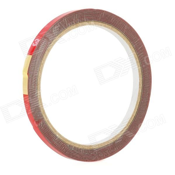 3M PET Double Sided Adhesive Tape - Red (3m-Length) 150mm 55m 300lse pet ultra strong adhesion double sided sticky tape for electronics touch panel nameplate frame display assemble