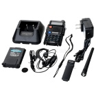 "Besttone BST-UV5R 1,5 ""LCD Dual Band Dual Display Walkie Talkie ж / FM Radio - Black"