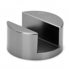 Ultra Mini Portable Aluminum Alloy Stand Holder Base for Iphone 4 / 4S - Grey