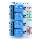 4-Channel Relay Module Expansion Board for Arduino (Works with Official Arduino Boards)