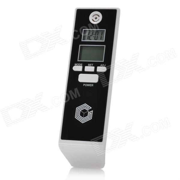 "Calibeur HE-0661 0.7"" / 0.8"" Dual- LCD Digital Alcohol Breath Tester - Black (2 x AAA)"