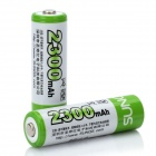 Rechargeable 1.2V 2300mAh AA Ni-MH Batteries (2 PCS)