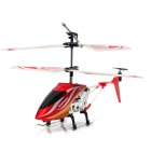 6875 Rechargeable IR Controlled 3,5-CH Stimme Plastic + Alloy R / C Helicopter - Red