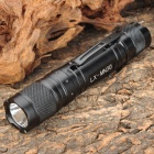 LOONGSUN MN30 Cree XR-E Q3 180lm 2-Mode White Light Flashlight - Black (1 x 18650)