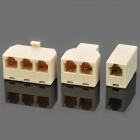 RJ-11 / RJ-45 Telephone Network Connector / Splitter Extender Plug Adapter Set (45 PCS)