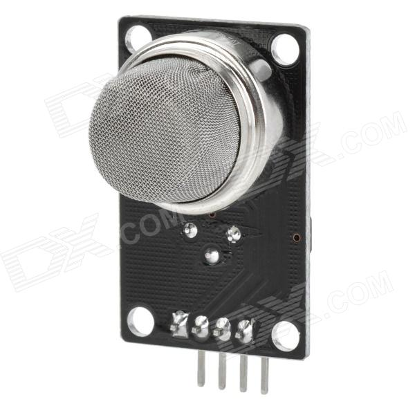 MQ-2 Smoke Gas Sensor V1.3 Module for Arduino (Works with Official Arduino Boards) smoke sensor module w relay output green black