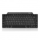 80-Key Rechargeable Bluetooth V2.0 Ultra-Slim Wireless Keyboard - Black