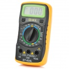 "DT-830L 1.7"" LCD Digital Multimeter - Black + Yellow"