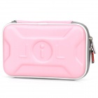 Protective Artificial Leather Bag Tasche für dsill / DSiXL - Pink