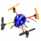 Creative 2.4GHz IR Control 4-CH Ladybug Style Flying UFO w/ Gyro - Blue + Black + Orange
