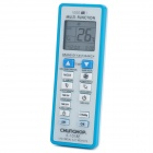 "Universal 1.6"" LCD Air Conditioner A/C Remote Control Controller - Blue + White (2 x AAA)"