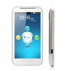"""THL W3 Android 4.0 WCDMA 3G Smartphone w/ 4.5"""" Capacitive Screen, GPS and Wi-Fi - White + Silver"""