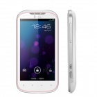 """THL W1 Android 4.0 WCDMA Bar Phone w/ 4.3"""" Capacitive Screen, GPS, Wi-Fi and Dual-SIM - White"""