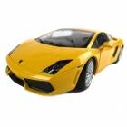 Die-cast 1:20 Scale Lamborghini Gallardo Car Model - Yellow