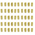 Two-way M3x10mm Brass DIY Binding Post Terminals for Arduino (50 PCS)