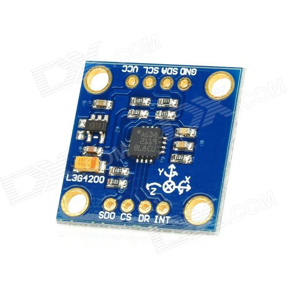 GY-50 L3G4200D 3-Axis Digital Gyro Sensor Module for Arduino (Works with Official Arduino Boards) gy 272 3 axis hmc5883l compass module