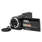 "DV-920 2.7"" LCD 5.0MP CMOS Digital Camera Camcorder w/ 5X Optical Zoom - Black"