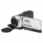"DV-920 2.7"" LCD 5.0MP CMOS Digital Camera Camcorder w/ 5X Optical Zoom - Silver + Black"
