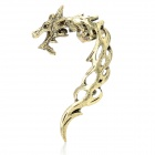 Stylish Retro Dragon Shaped Alloy Earring - Copper