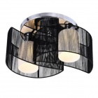 BH902 Modern Half-Moon Style Pendant Ceiling Light Lamp - Black (AC 110~120V)