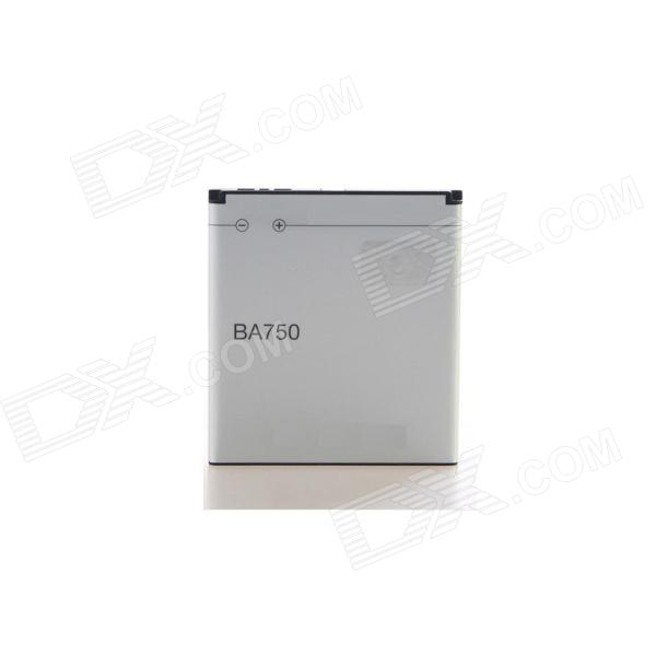 BA750 3.7V 1500mAh Cellphone Battery for Sony LT18i / LT15i / X12 / Xperia Arc - Grey