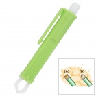 Pet Care Tick Remover Tweezers for Dog / Cat - Green