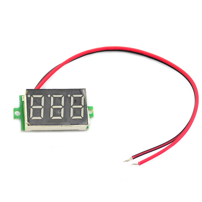Mini 3-Digit LED Display Digital Voltímetro Módulo (4,5 ~ 30V)