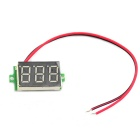 Mini 3-Digit LED Display Digital Voltmeter Module (4.5~30V)