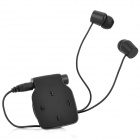 HM9228 Collar Clip Style Wireless Bluetooth Headset v3.0 for Mobilephone - Black
