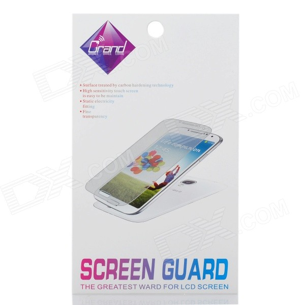 Glossy Matte LCD Screen Front / Back Protector w/ Cleaning Cloth for Iphone 4 / 4S - Transparent