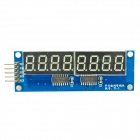 8 x Seven-Segment Displays Module for Arduino (Works with Official Arduino Boards)